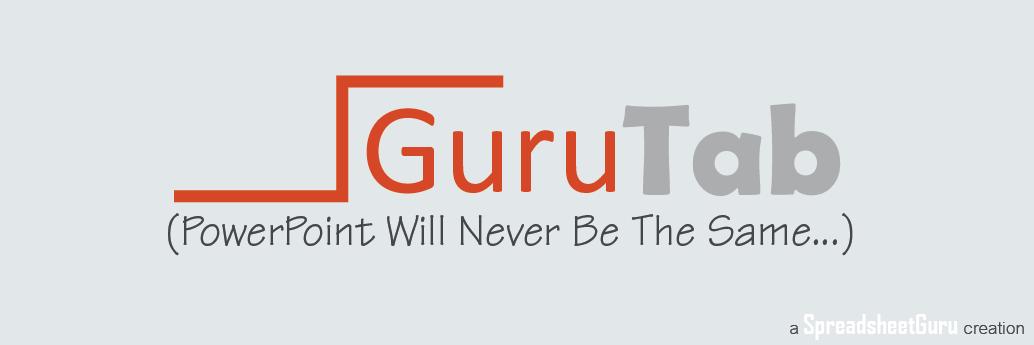 Guru Tab Microsoft PowerPoint Utility Add-in