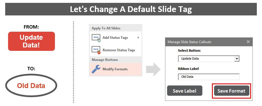Guru Tab Microsoft PowerPoint Add-in Customize Slide Status Tags