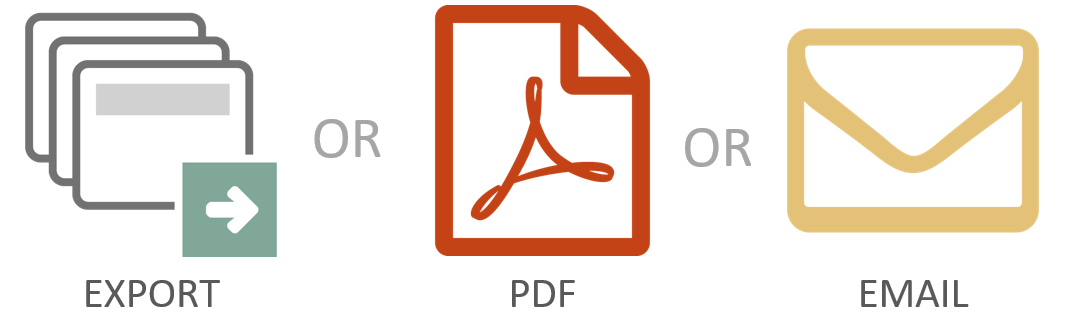 Guru Tab Microsoft PowerPoint Tool Export Save PDF Email Attachment