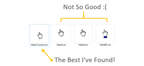 How To Change The Mouse Cursor Icon In Your VBA Userform