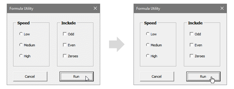 VBA Userform Change Mouse Image To Hand Finger Point