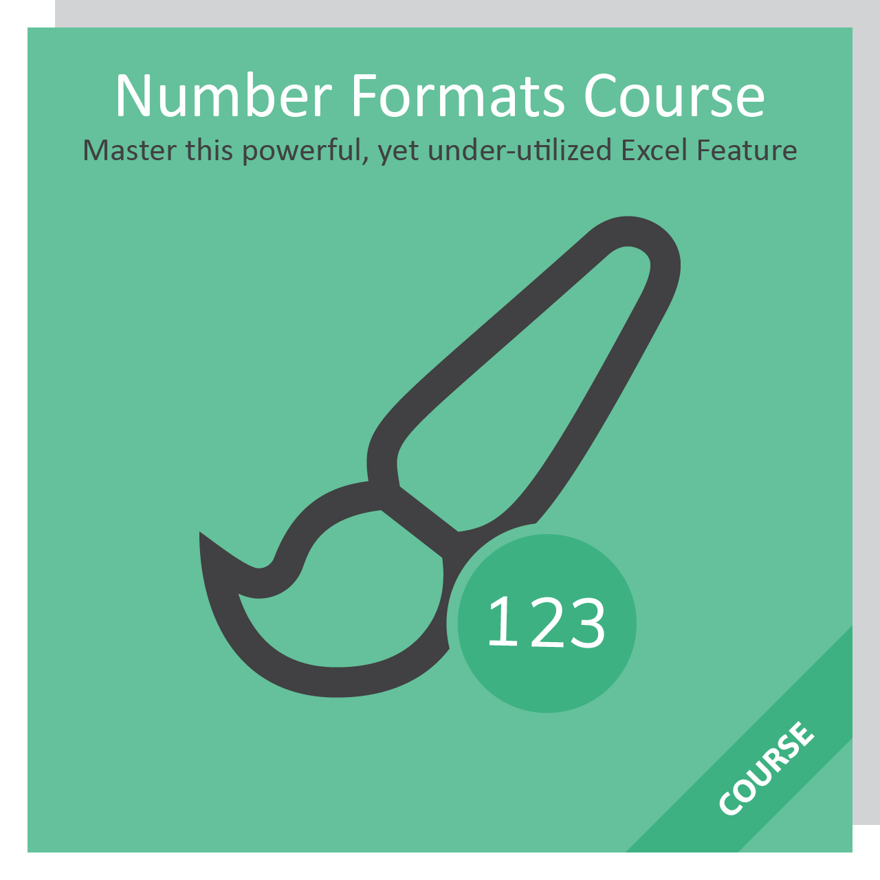 Custom Number Format Rule Excel Course