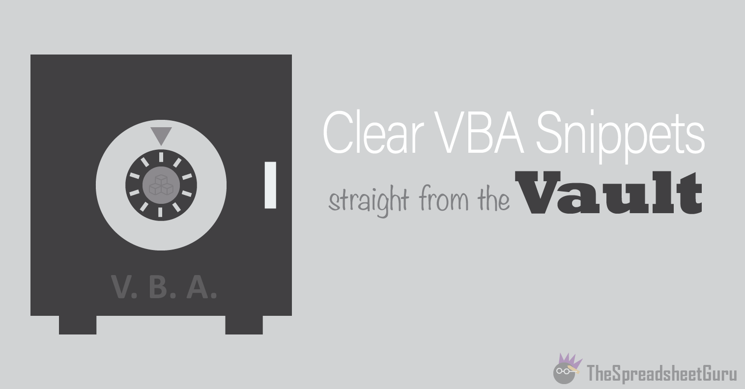 VBA Function To Determine If A Worksheet Exists In A Workbook — The ...