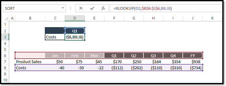 Excel Xlookup Function Spreadsheet Example