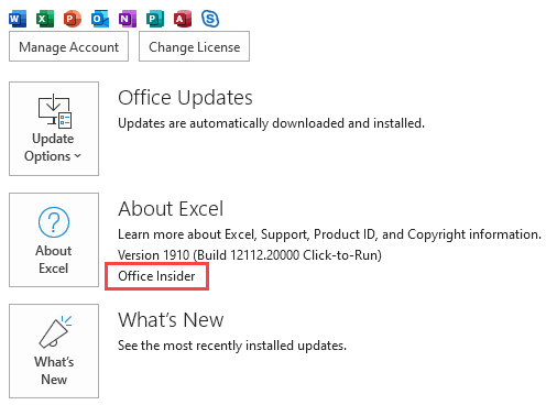 How To Confirm You Have Office Insider