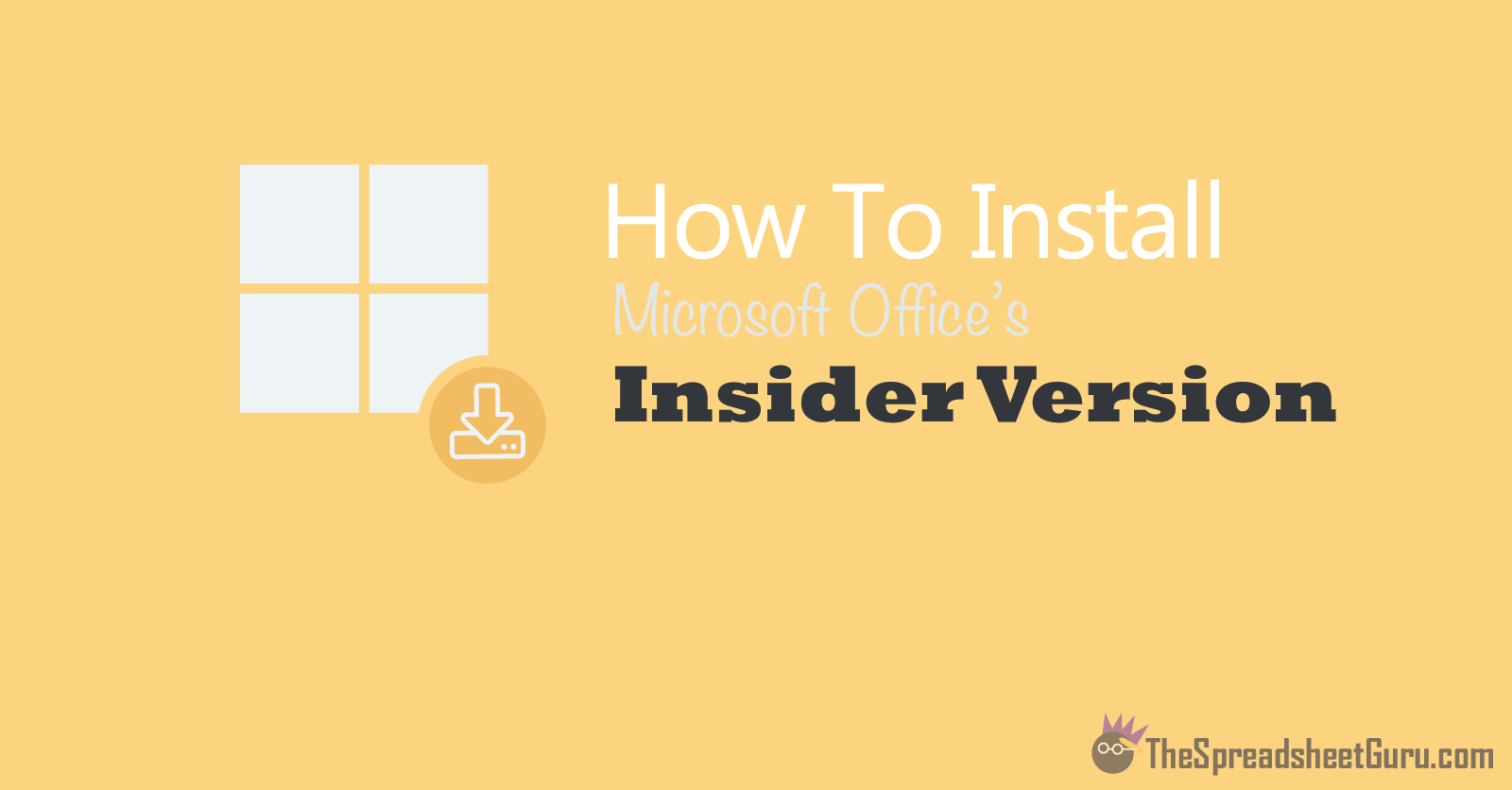 How To Install Microsoft Office Insider Version