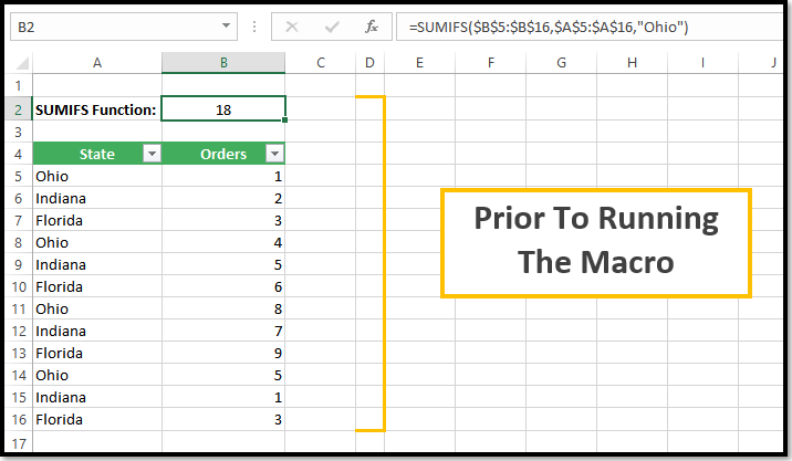 VBA To Show Detail For A SUMIFS Function — The Spreadsheet Guru
