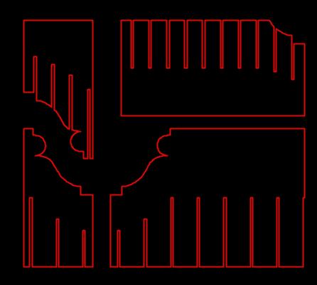Profiles to send to lasercutter