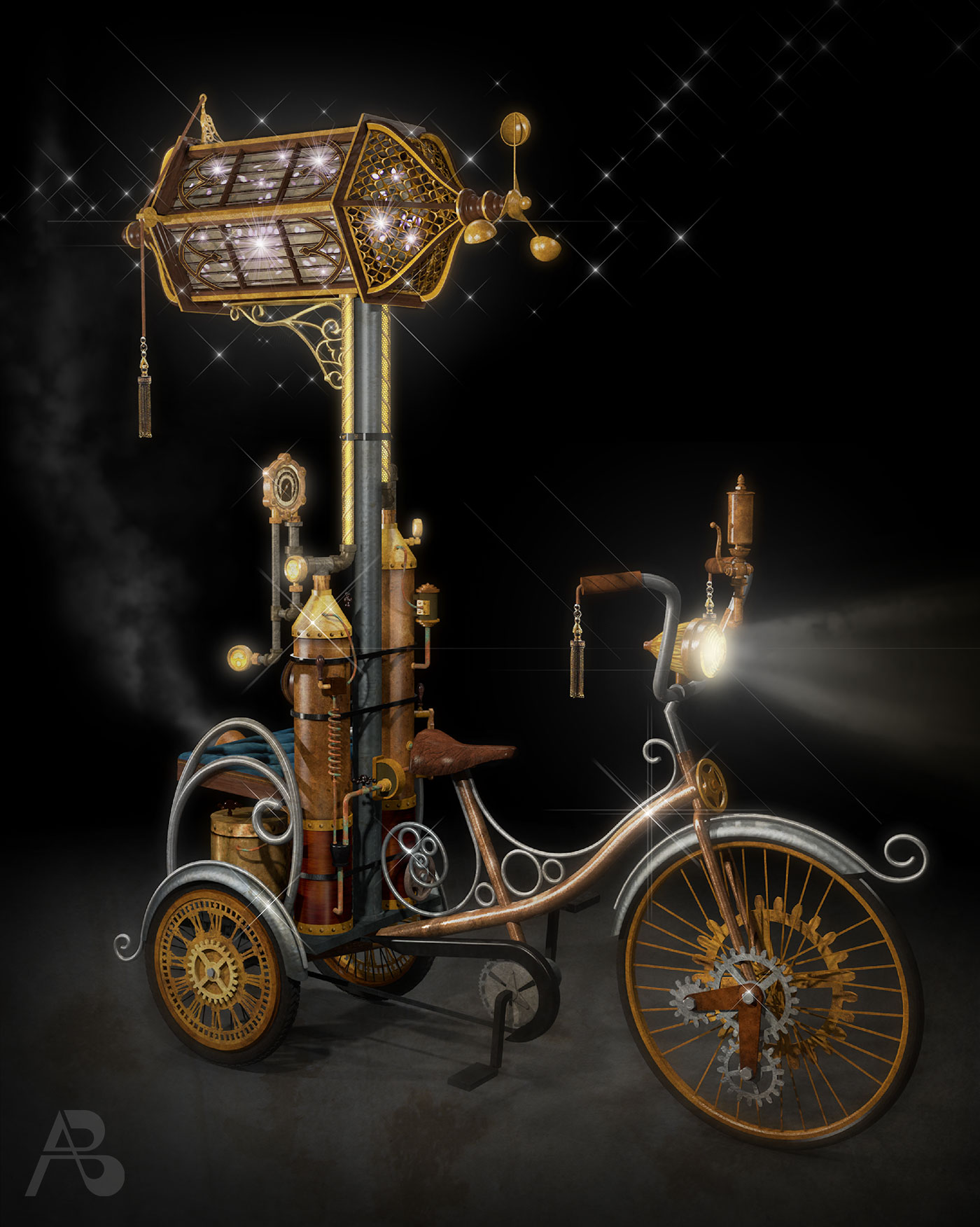 andy-broomell-chronocycle-front-digital-rendering-vectorworks-photoshop-firefiles-steampunk-bicycle-machine.jpg