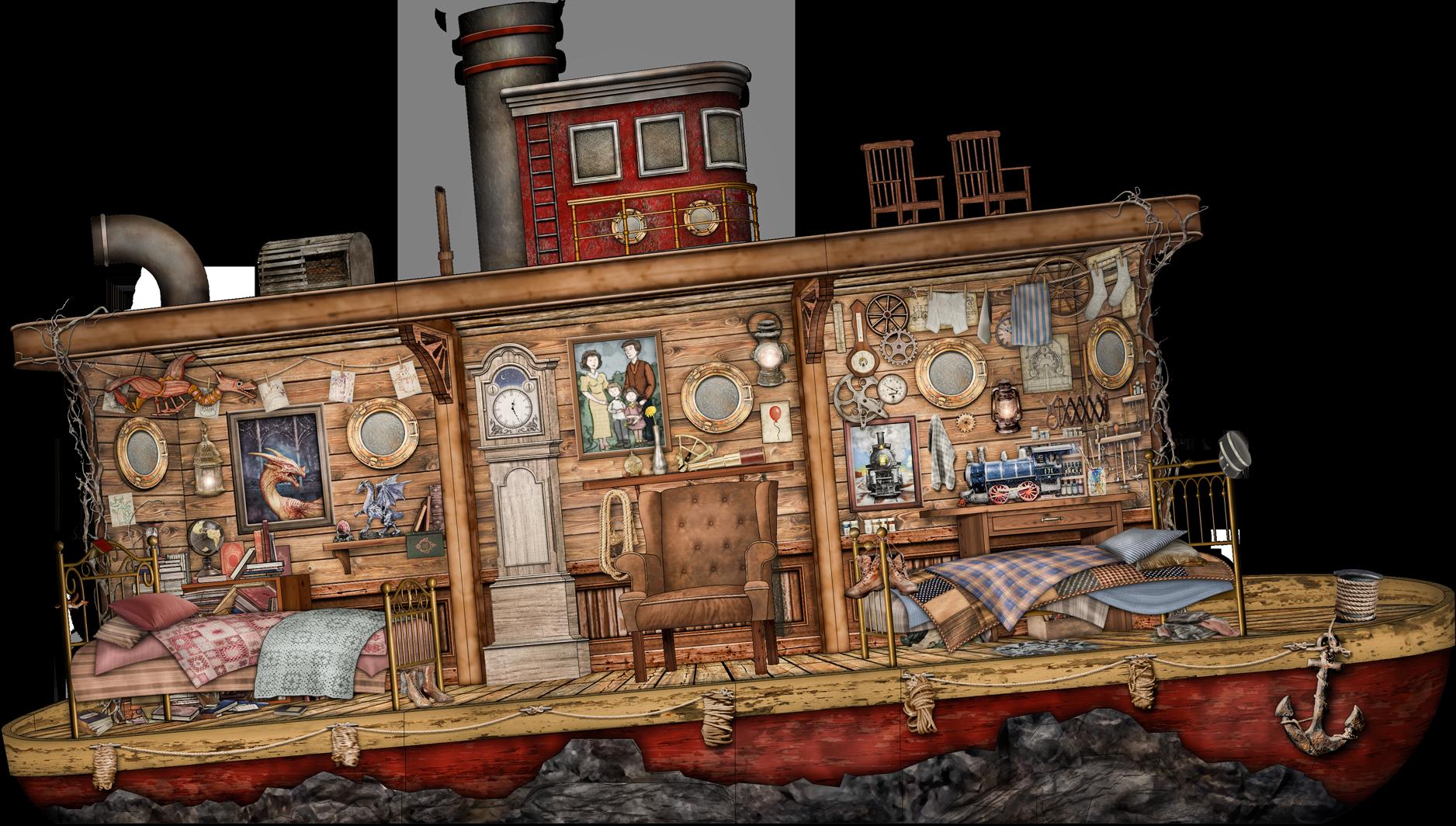 TUGBOAT  The Dream  (Ovation of the Seas)