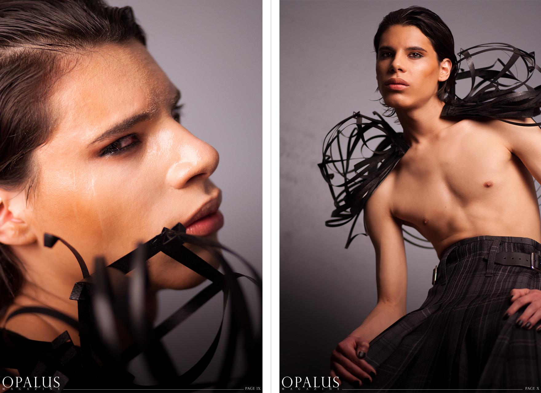 PHOTOGRAPHER - MALORIE SHMYR MAKEUP ARTIST / HAIR STYLIST - KRYSTLE ASH HEADDRESS / SHOULDER PIECE  - MALORIE SHMYR CLOTHING - SCOTTISH IMPORTS - WWW.ANYTHINGSCHOTTISH.COM MODEL - STEPHAN