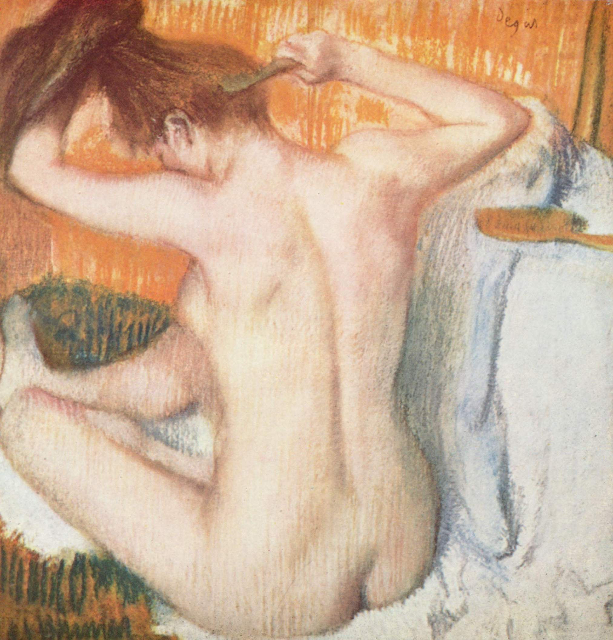 Painting by Edgar Degas