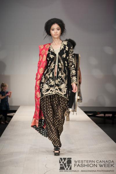 Designer - Nazila Couture  Photography - Ian MacDonald