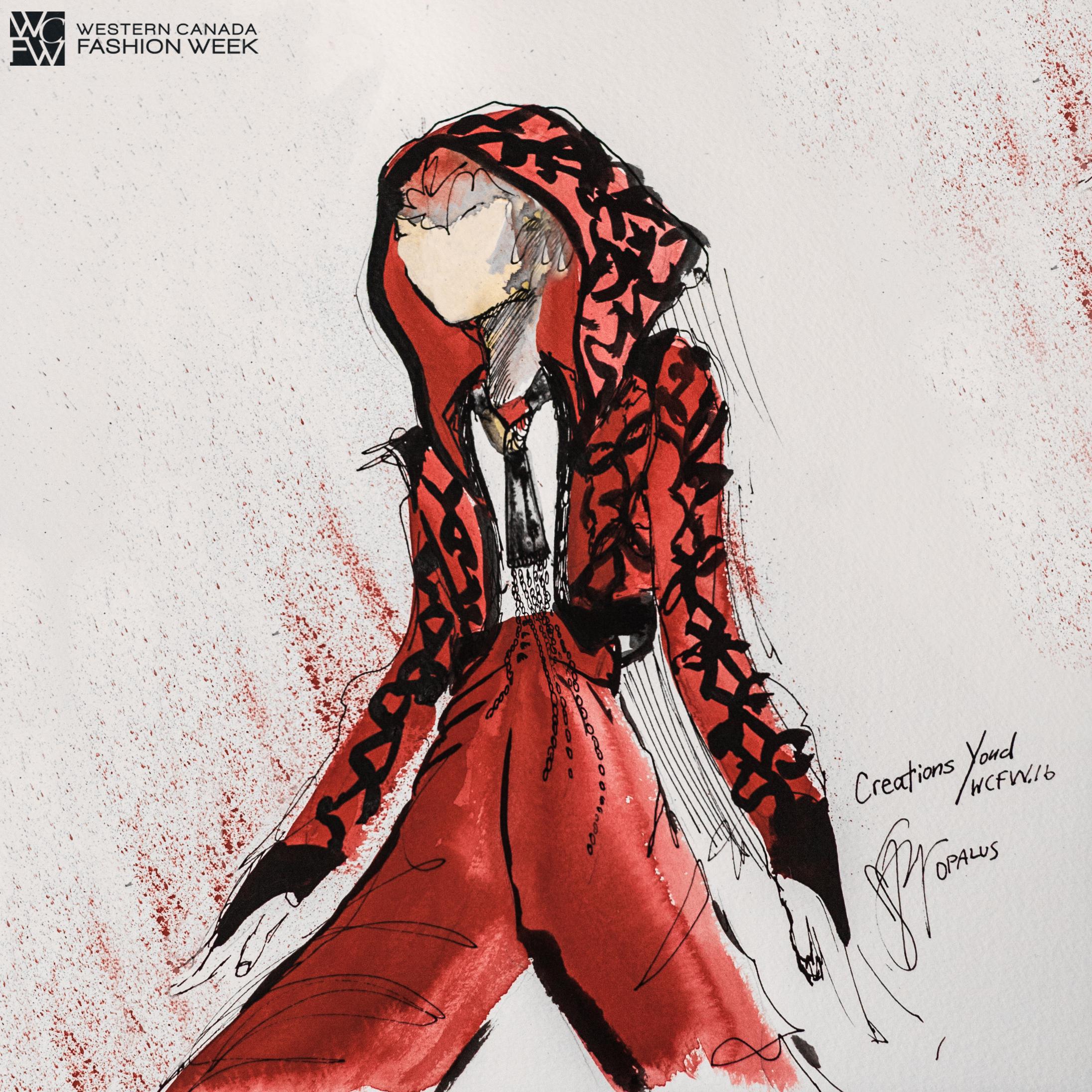 Illustrator - Malorie Shmyr, Creative Director/Editor of OPALUS Magazine