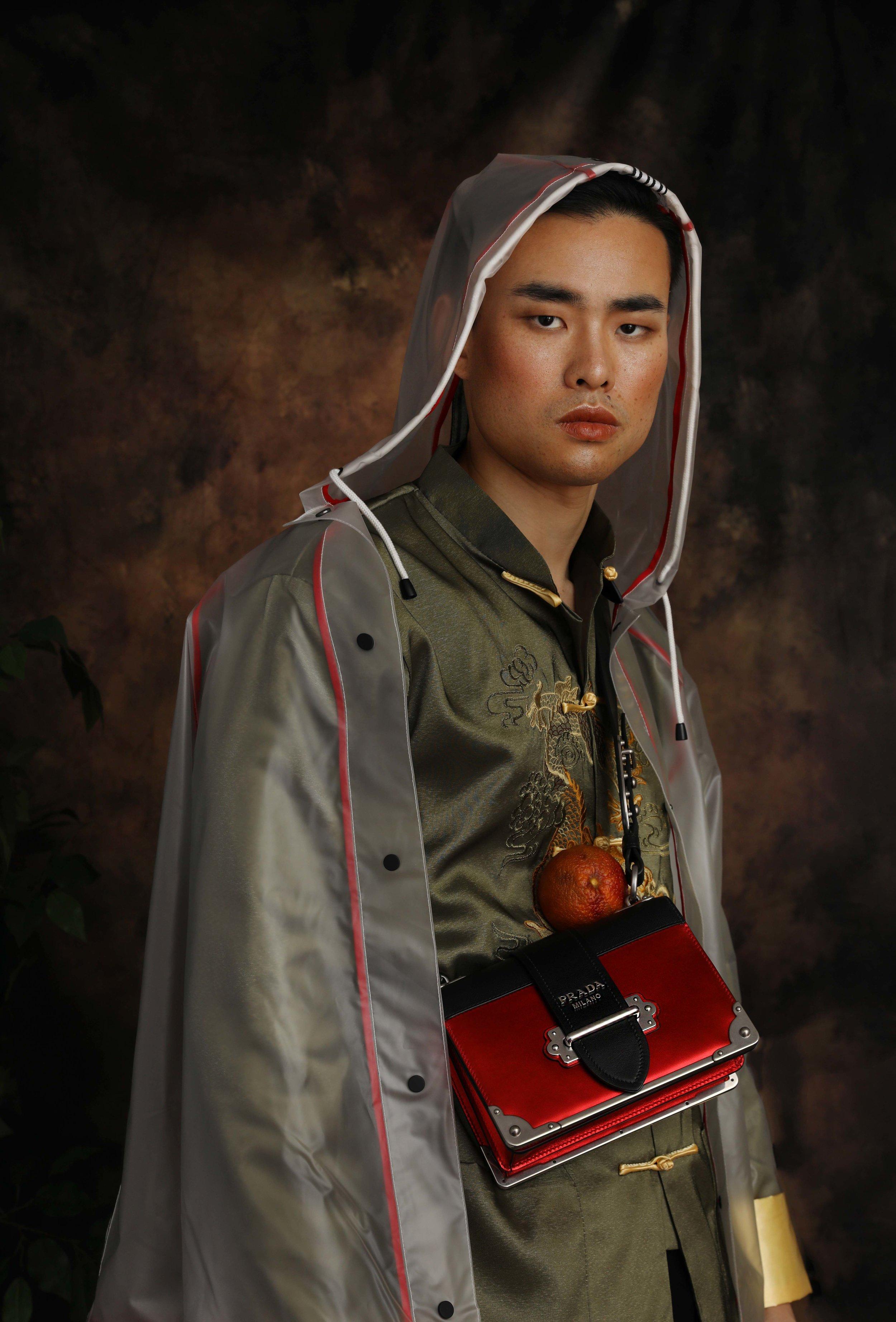 Jacket by Zara  Bag by Prada