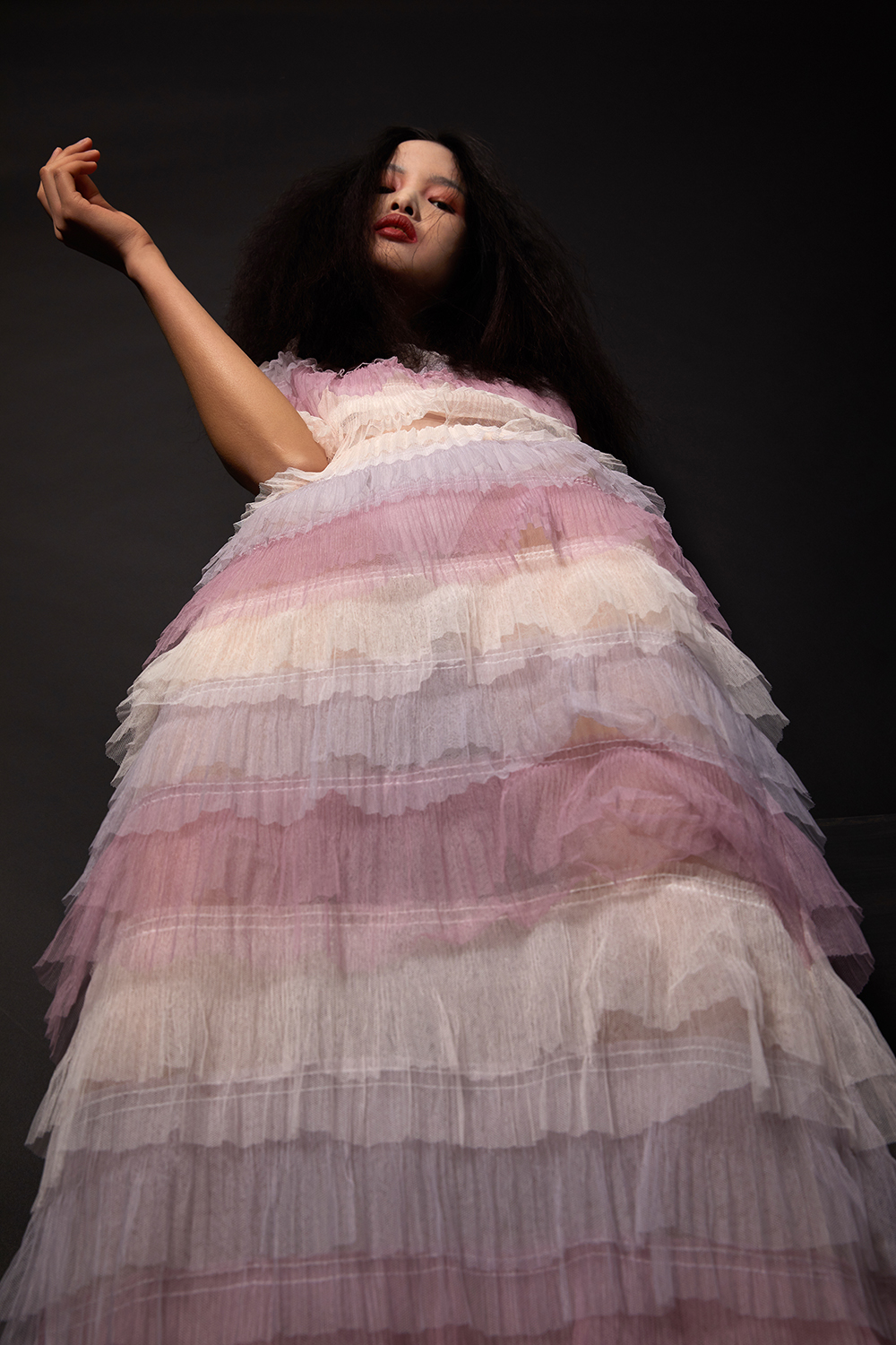 Tulle Dress by Malan Breton
