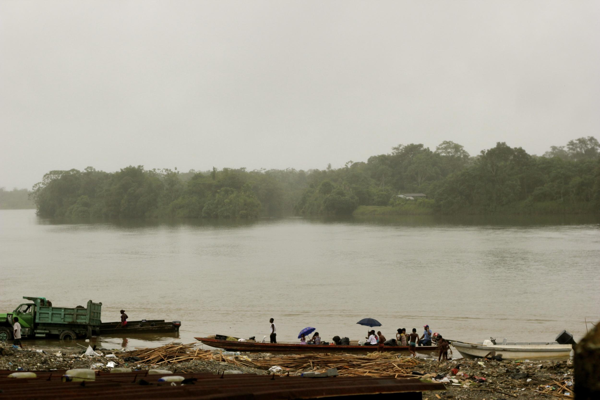 Río Atrato. Quibdó, 2011.
