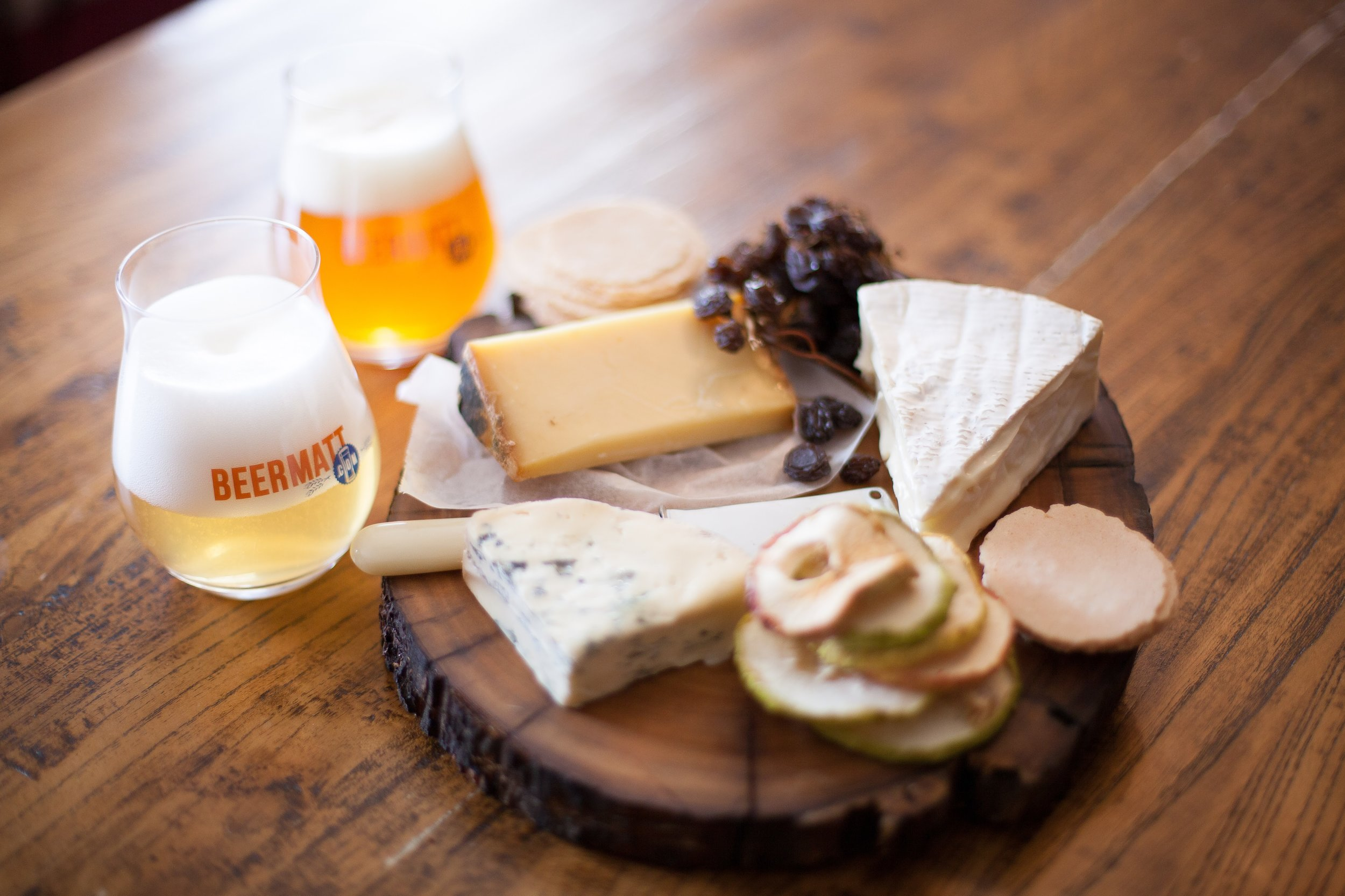 Beer & Cheese - Beer's ability to pair with cheese surprises many and leaves a lasting impression on corporate guests. Matt can present a beer and cheese masterclass just about anywhere.