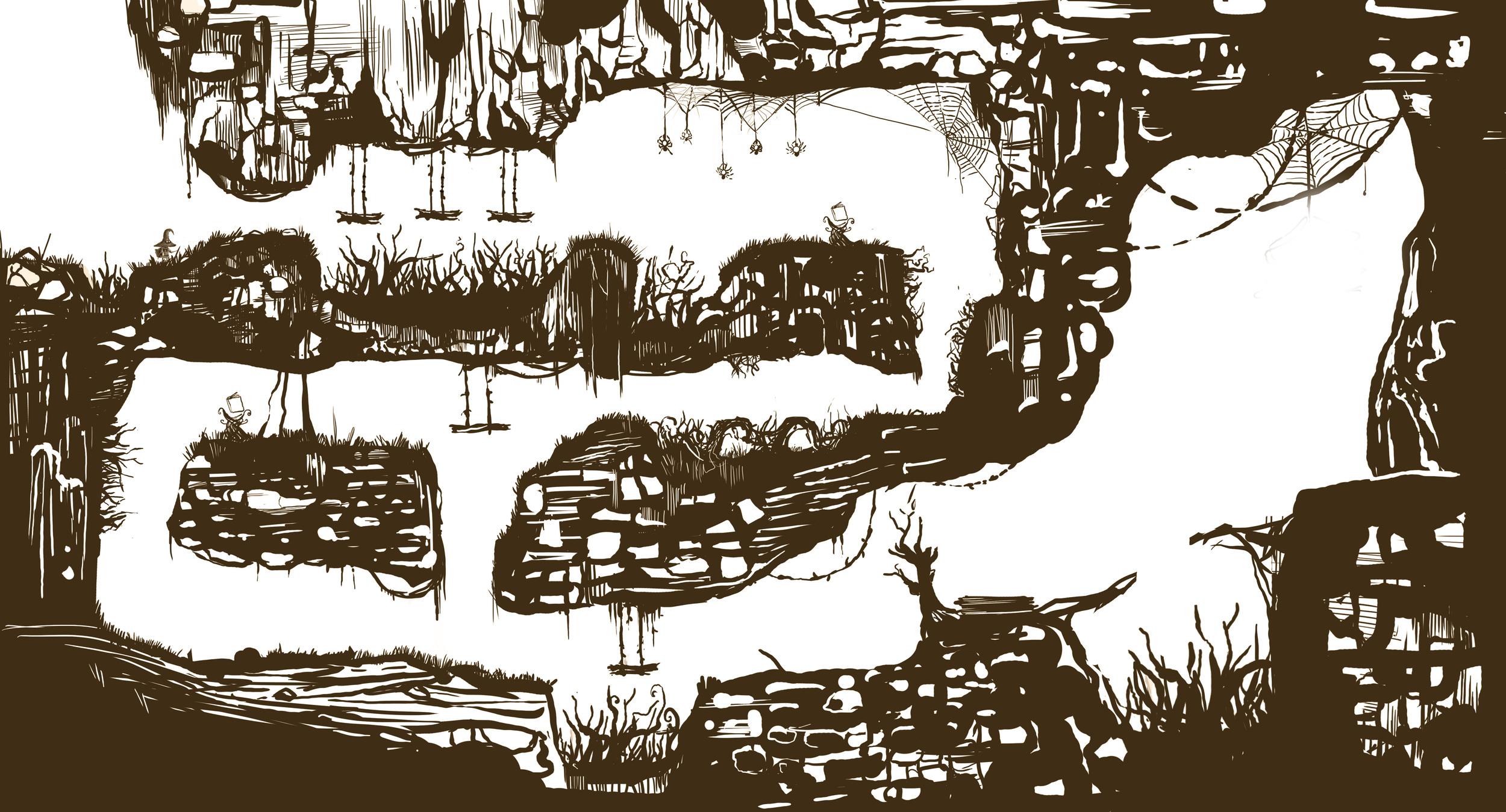 Tutorial Level Sketch