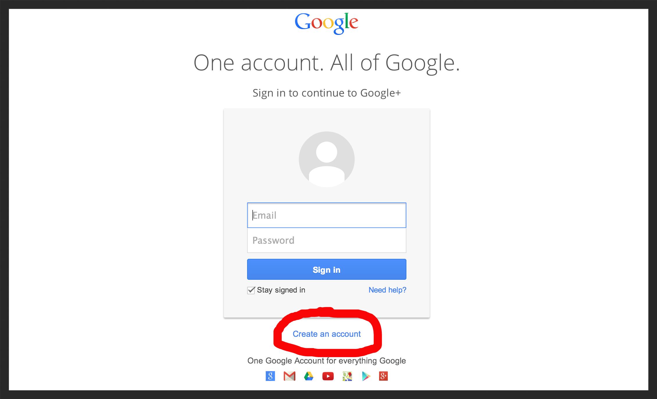 no account