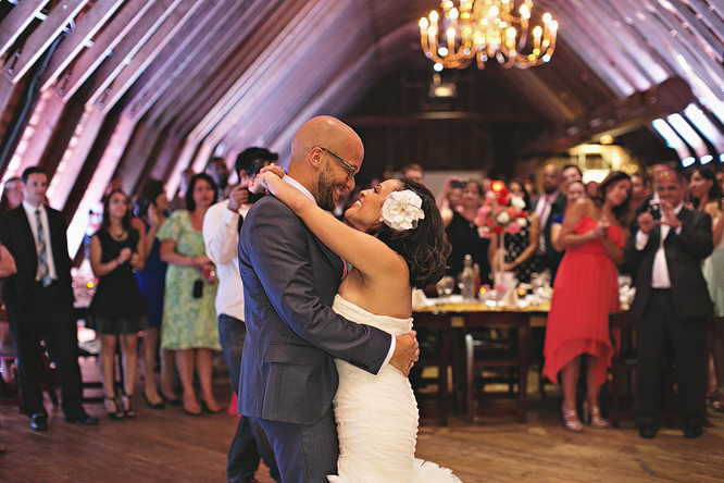 Bride and Groom First Dance Perona Farms