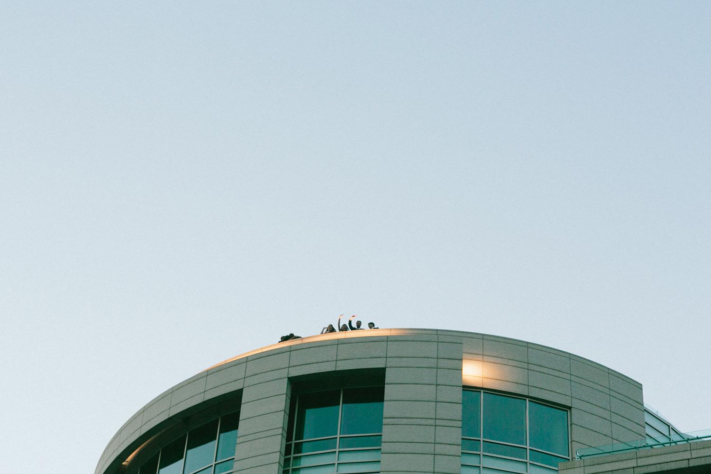 Washington DC Wedding Photographer | 101 Constitution Roof Top Terrace Wedding | Tim Riddick Photography