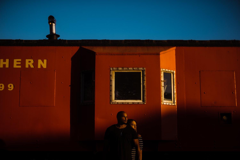Old Town Manassas engagement session | Washington DC Wedding Photographer | Tim Riddick Photography