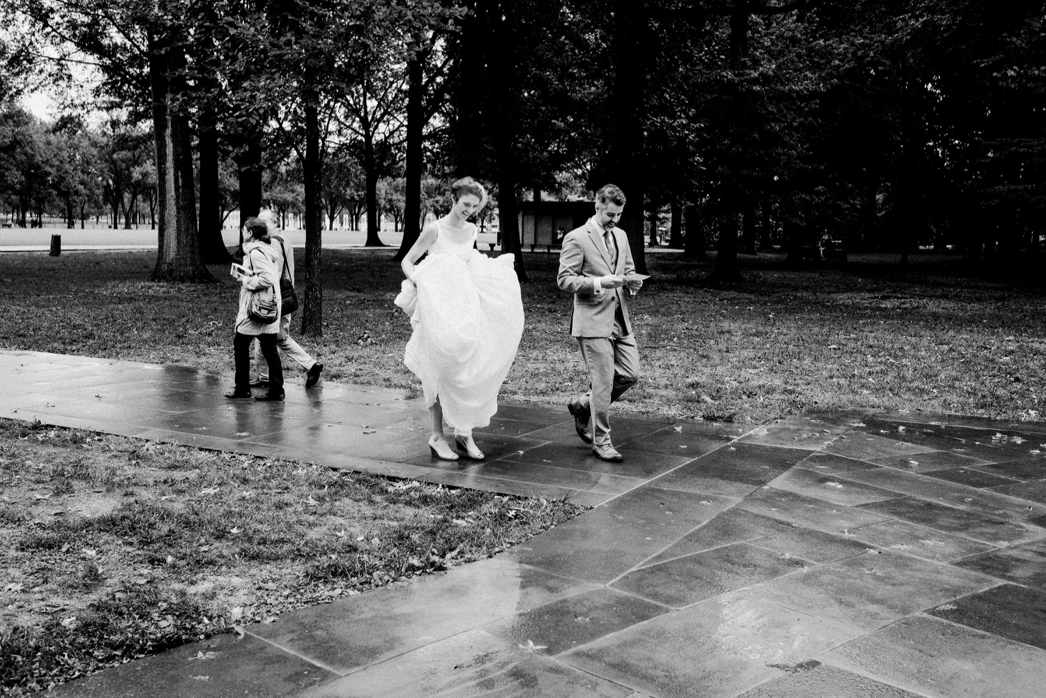 DC War Memorial Wedding | Tim Riddick Photography | Washington DC Wedding Photographer
