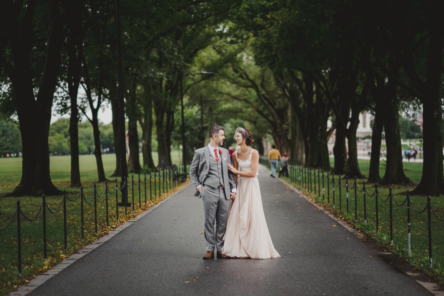Lincoln Memorial Wedding | Washington DC Wedding Photographer | Tim Riddick Photography