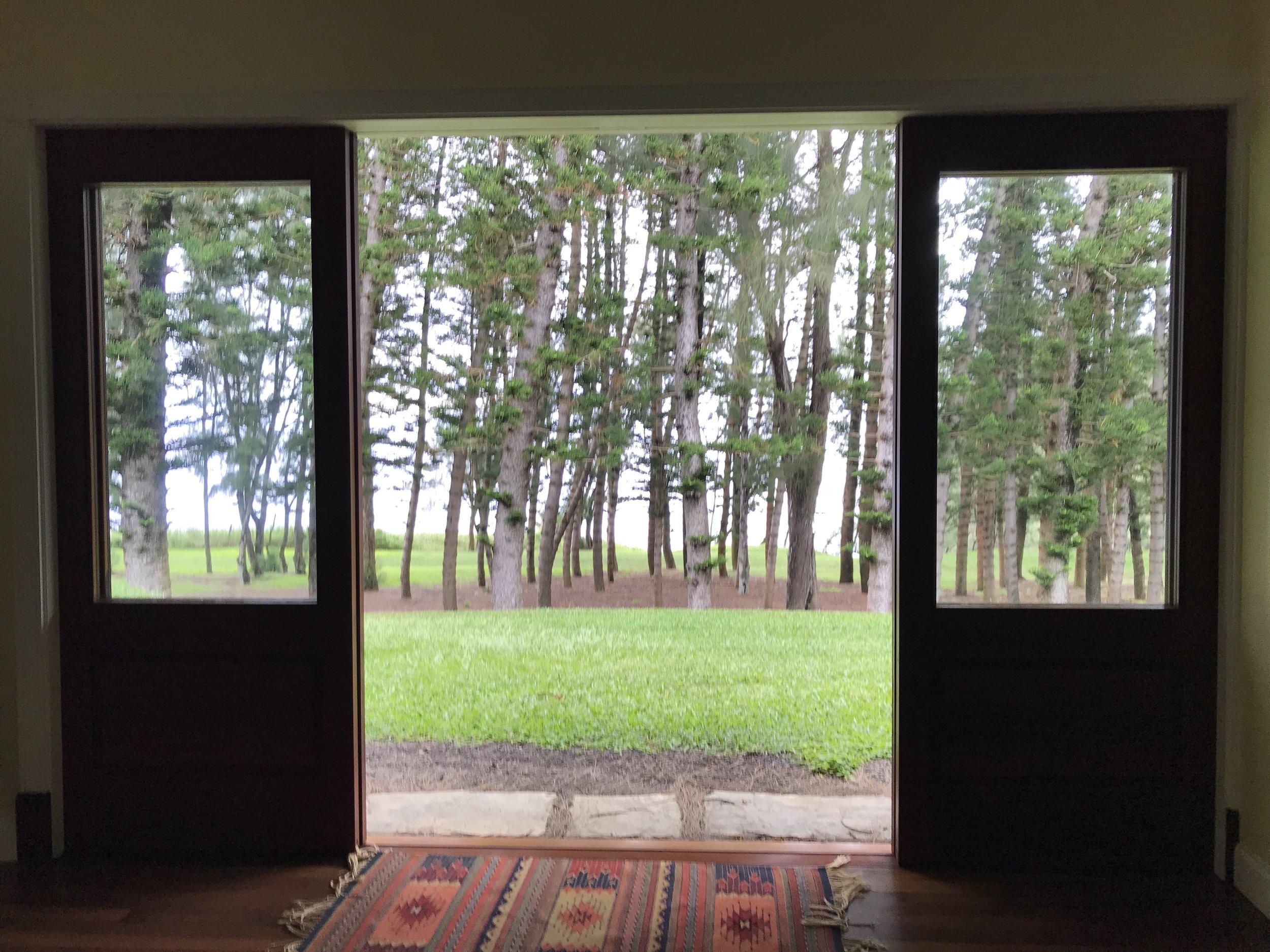 big island retreat yoga room view.JPG