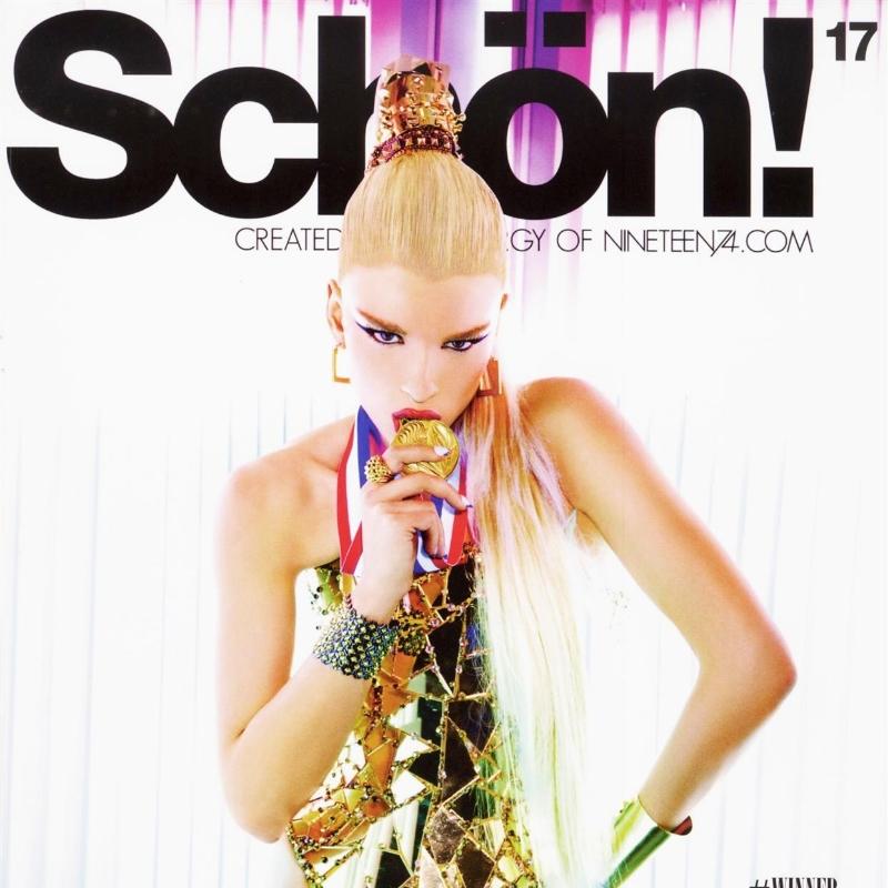 Schon! Magazine Crystal Renn by Ellen Von Unwerth