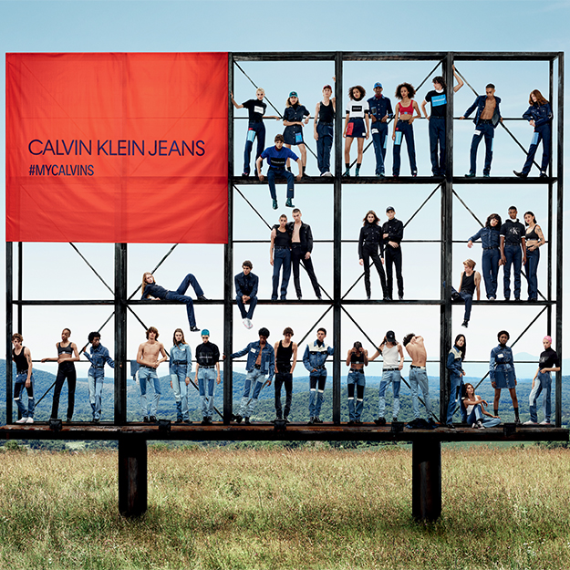 Calvin Klein 'Together in Denim' by Willy Vanderperre