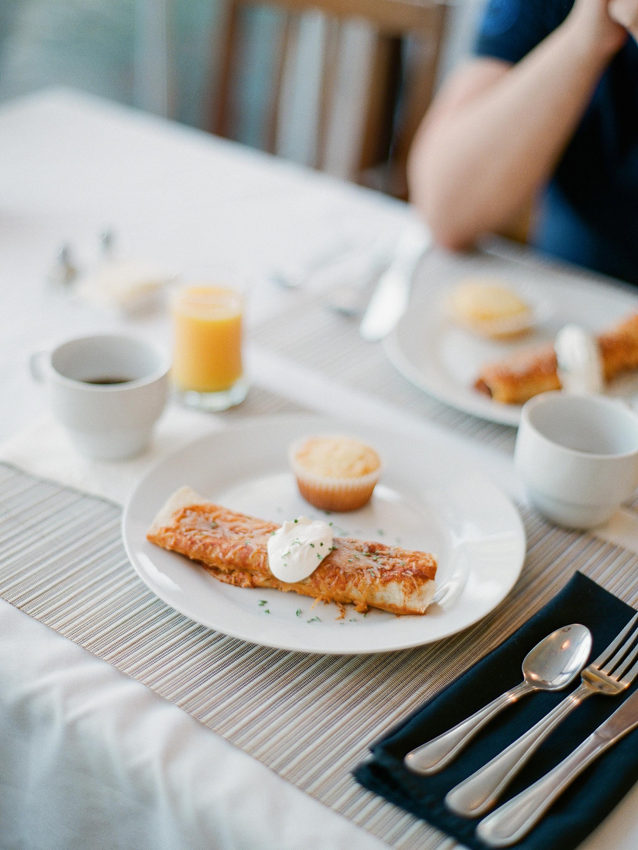 Breakfast in California