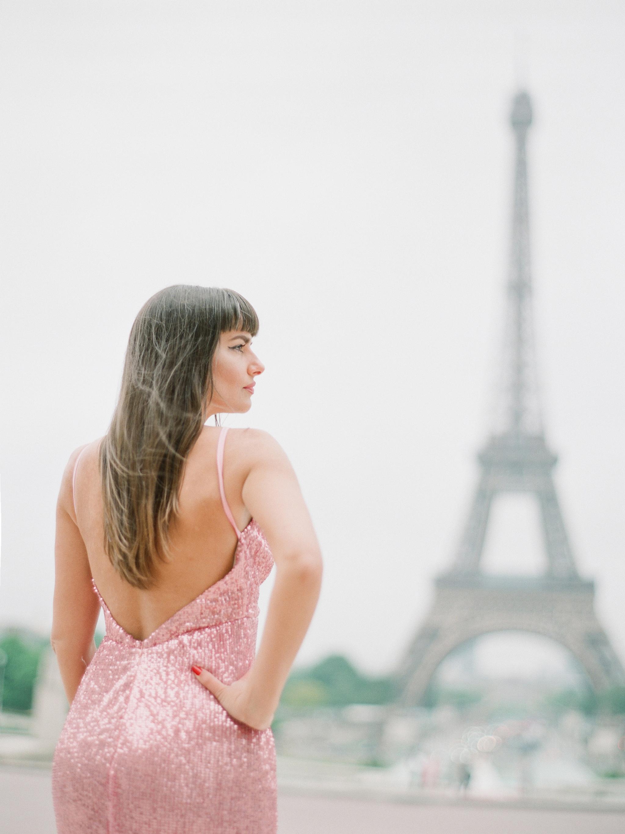 Film portrait session Paris