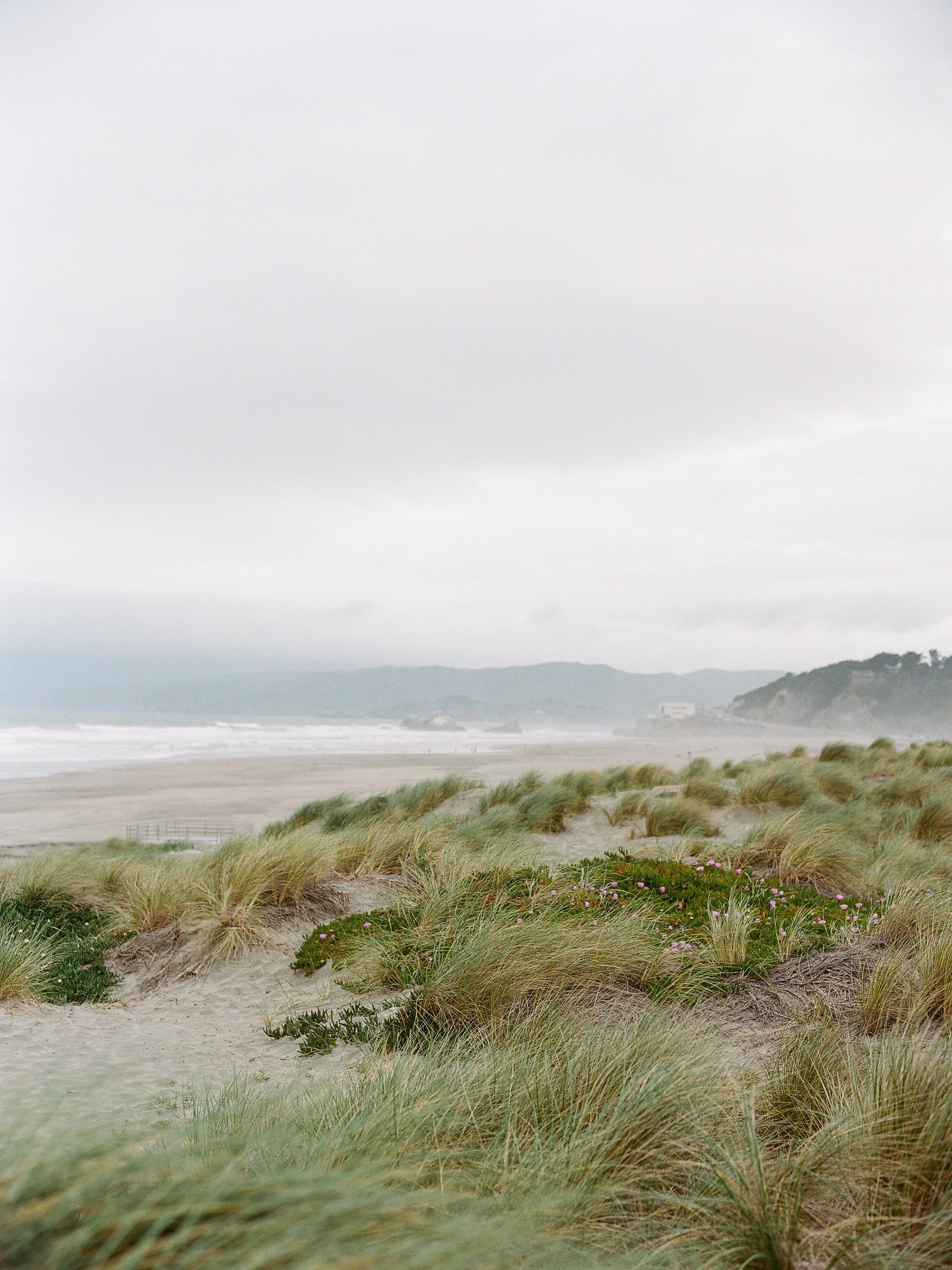 Ocean Beach, San Francisco on film