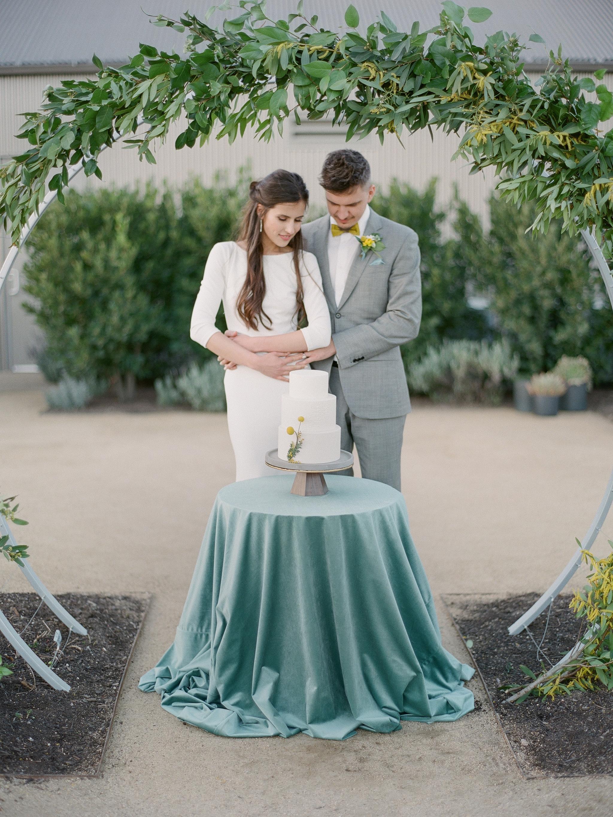 mid century modern wedding ideas