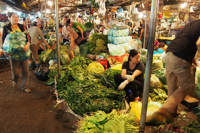 Wholesale Market - 4am by Claudia Wigger