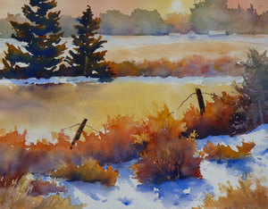 Late Winter's Afternoon-  www.sharonlynnwilliams.com
