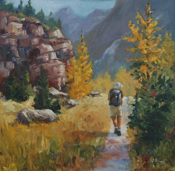A Good Day in the Mountains -  www.sharonlynnwilliams.com