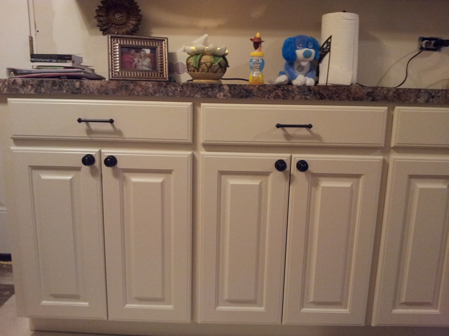 Painted Cabinets (AFTER) - Baton Rouge, La