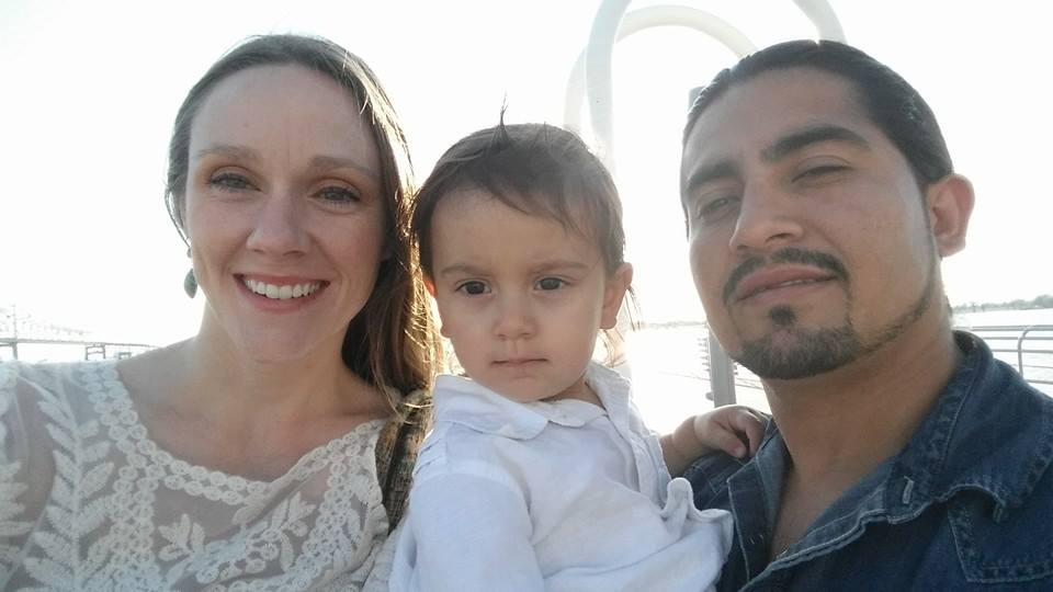 Familia de tres. <3