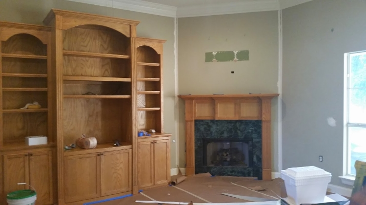 BEFORE Interior Painting