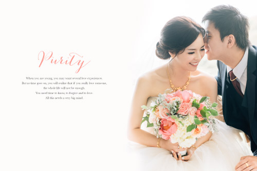 Wedding 婚禮 - Your purity and smile