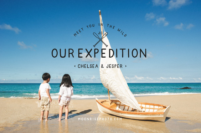 Expedition 小小探險家-海洋遠征篇 (The Twins Chelsea & Jesper 小豬小羊)  Meet you in the wild.