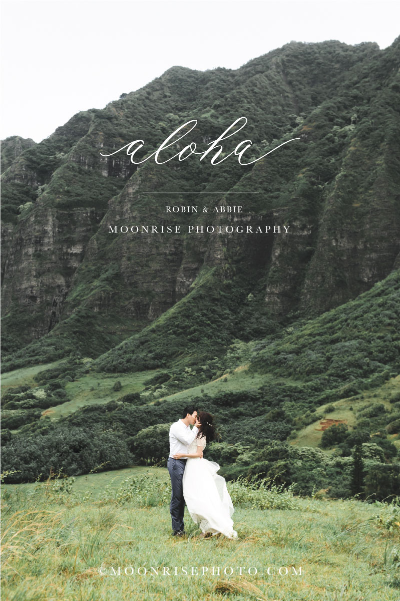 Aloha  < Robin & Abbie >  Hawaii 夏威夷海外婚紗  Marry me in valle.