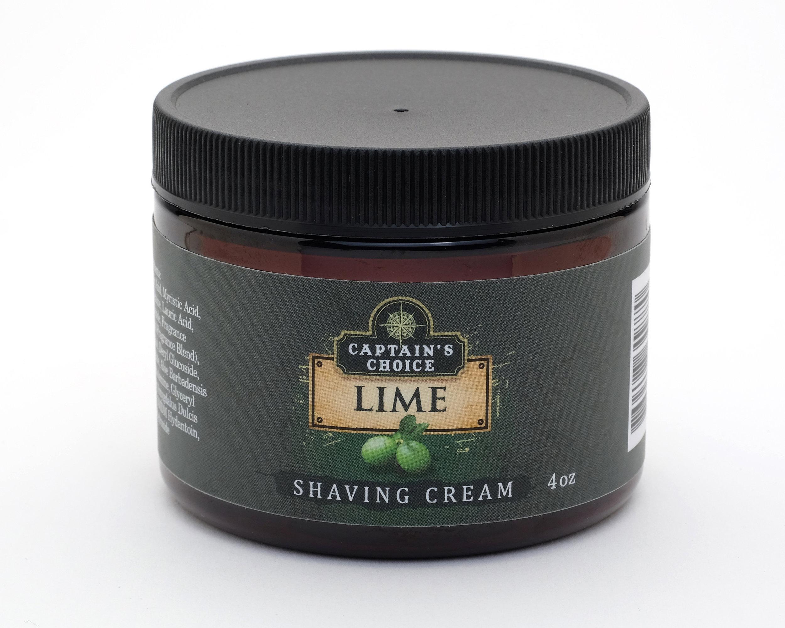 Lime Shaving Cream