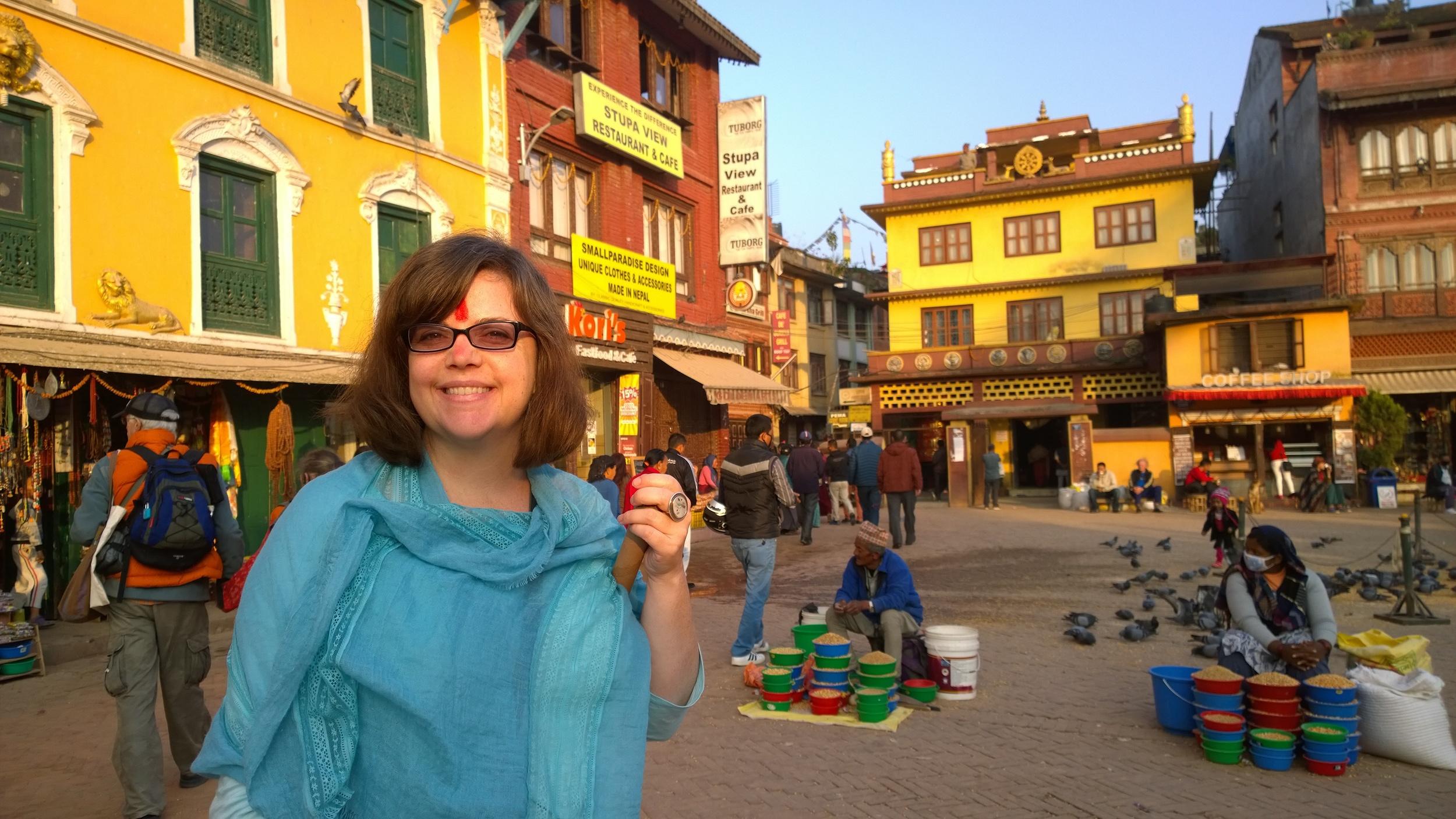 Kathmandu Bouddhanath, Nepal