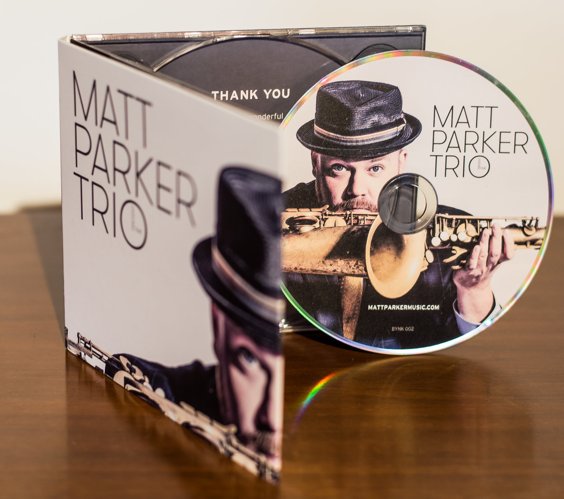 Matt Parker Trio - I wrote seven originals for my second album plus a couple i didn't write. This was so much fun to make and having special guest vocalist Emily Braden brought it to another level.