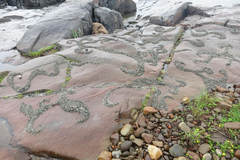 Pebble Paintings