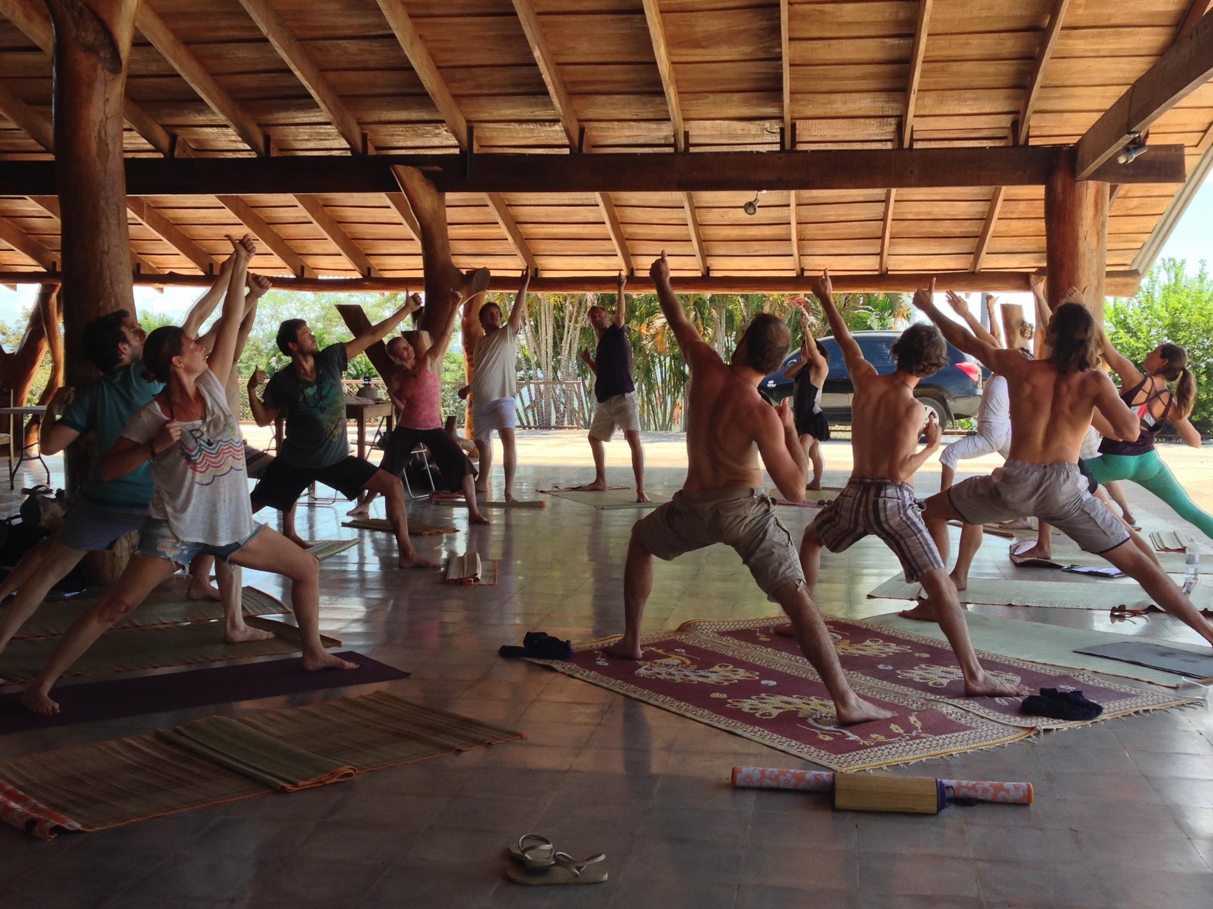 Yoga at Puerta a la Vida